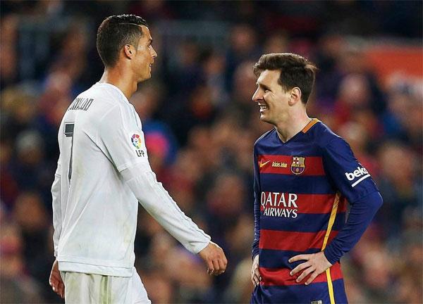 C. Ronaldo và Messi dành sự tôn trọng cho nhau, không hẳn thù ghét nhau như kình địch.