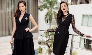 Diệu Linh gợi ý mặc đẹp cùng gam đen