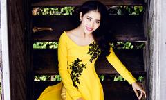 Top 8 Miss Earth 2016 Nam Em gợi ý áo dài cho ngày ăn hỏi