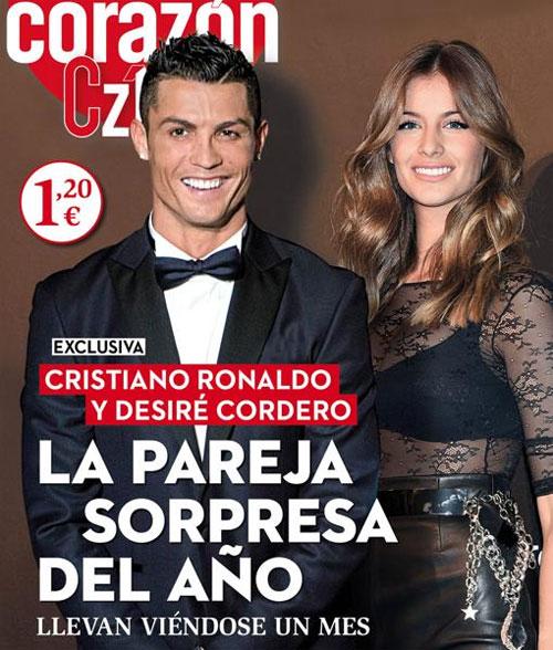 C. Ronaldo và người đẹp Desire Core