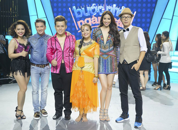 Bán kết Bước nhảy ngàn cân với Top 4 thí sinh: Xuân Lộc, Tố Tố, Ngọc Khánh và Lộc Vượng sẽ lên sóng VTV3 vào 21h15 Chủ nhật ngày 6/11/2016.