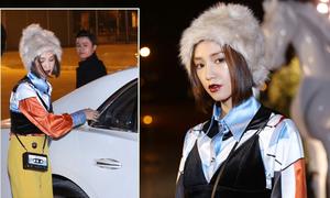 Thiếu gia Phan Thành đi xem thời trang cùng hot girl Salim