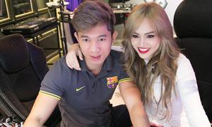 Lương Bằng Quang thân mật với học trò của Lưu Thiên Hương
