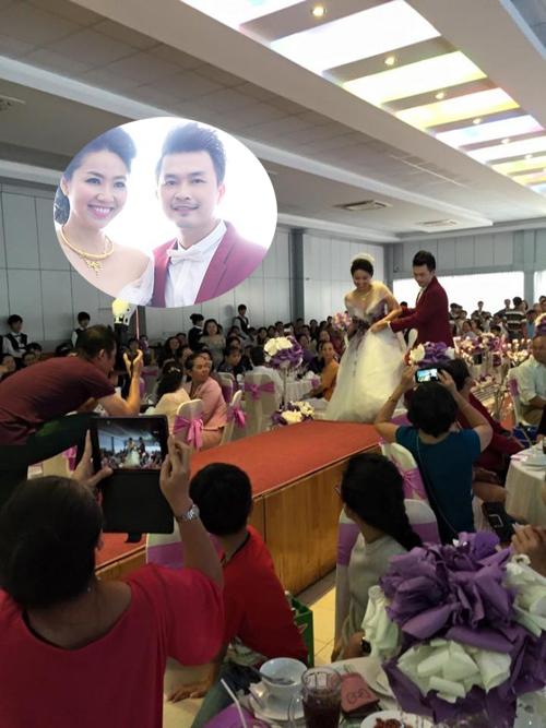 [Caption]Lễ thành hôn của Lê Khánh  Tuấn Khải chính thức diễn ra tại quê nhà chú rể, huyện Châu Thành, Tiền Giang vào sáng ngày 27/12.
