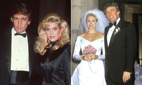 Hai cuộc hôn nhân 'đứt gánh giữa đường' của Donald Trump