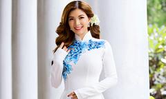 Phạm Thanh Thảo gợi ý 3 mẫu áo dài đón dâu màu trắng