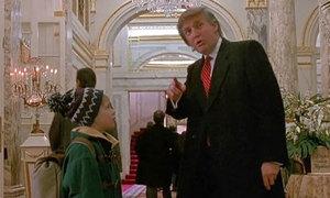 Ông Donald Trump từng đóng phim 'Ở nhà một mình'