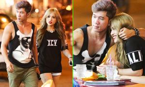 Lương Bằng Quang đi ăn khuya với rapper Chung Thương