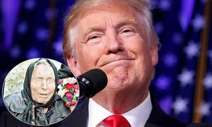 Nhà tiên tri Vanga: 'Tổng thống 45 của Mỹ sẽ gặp sự cố trước khi nhậm chức'
