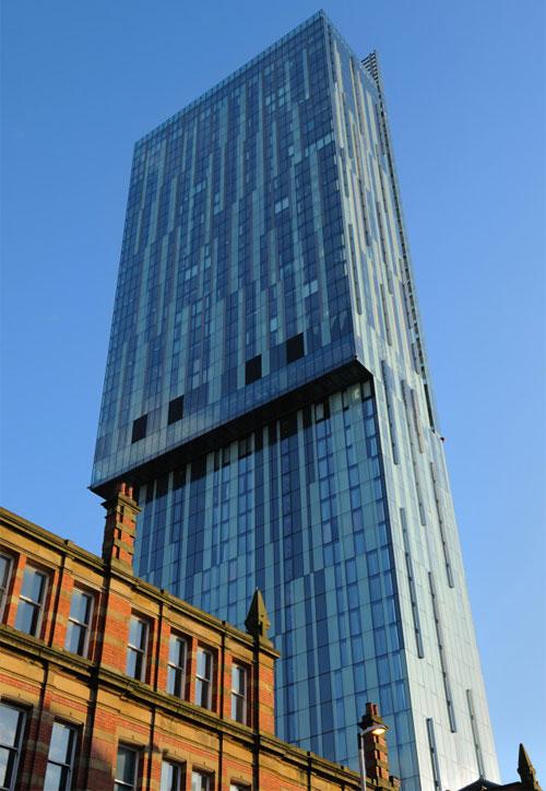 HLV Mourinho dự định thuê penhouse trên tòa tháp cao nhất Manchester