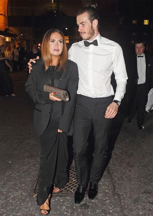 Gareth Bale và vợ sắp cưới tăng cường thêm an ninh sau khi dì bị thẩm vấn vì nghi ngờ rửa tiền.