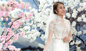 Thiết kế áo dài cưới mới nhất 2017 của LAHAVA