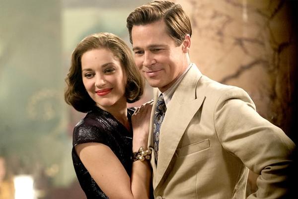 Brad Pitt và bạn diễnMarion Cotillard. Ảnh: US Weekly.