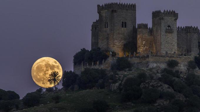 Hình ảnh siêu trăng trên khắp thế giới