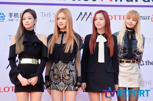 Nhóm nhạc nữ Black Pink gồm 4 cô gái xinh đẹp, duyên dáng.
