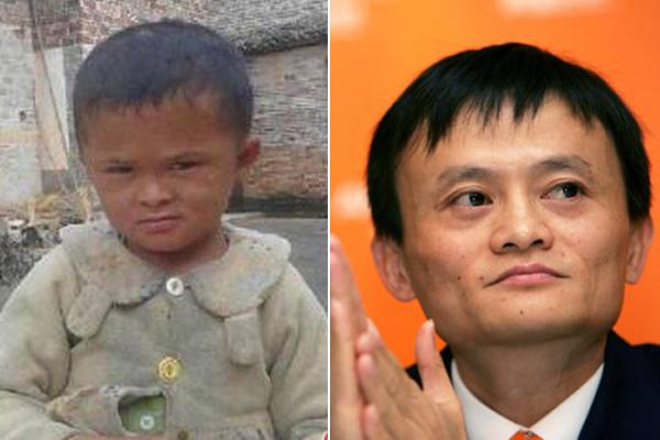 Ông Jack Ma từng rất ấn tượng với ngoại hình giống hệt mình của cậu bé Fan Xiaoqin.