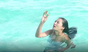 Hậu trường Jeon Ji Hyun vất vả hóa thân nàng tiên cá