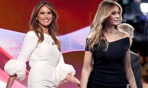 Vợ Donald Trump tạo cơn sốt thời trang dù bị kêu gọi tẩy chay