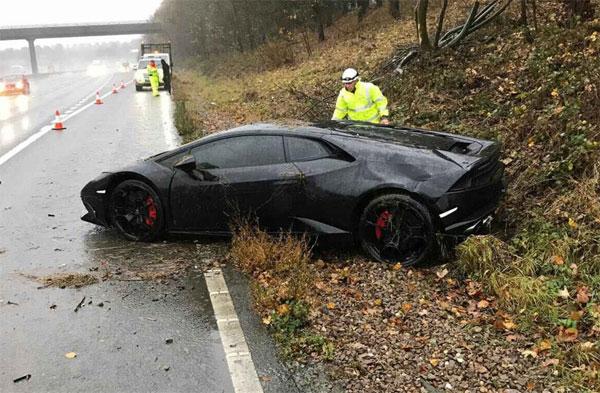 Chiếc Lamborghini của sao Leicester