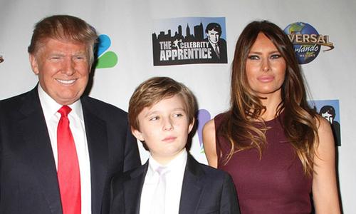 Bà Melania Trump nổi giận khi con trai bị nói là tự kỷ