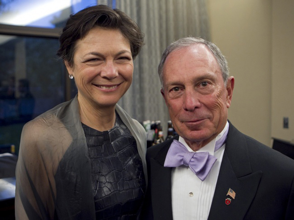 Michael Bloomberg is a politician, entrepreneur, and former mayor of New York. He has a fortune of more than $40 billion. He divorced his first wife and has been in a civil partnership with Diana since the year 2000. The couple has said on several occasions that they dont see the point of getting married officially.