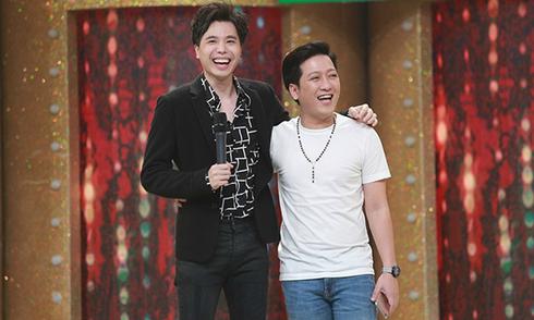 Trường Giang tỉnh bơ xưng 'chị' với Trịnh Thăng Bình