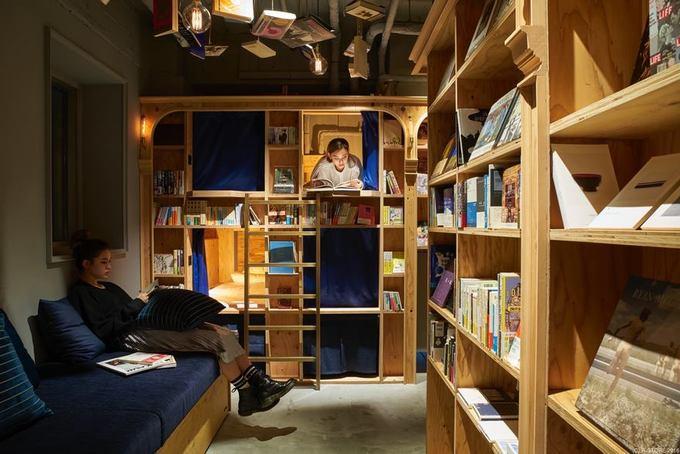 Khách sạn \'trốn đời\' dành cho những con mọt sách ở Nhật