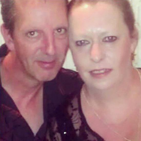 Bà Jane Gaskin và chồng mới cưới David