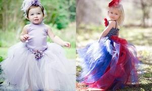 Váy voan bồng bềnh làm điệu cho phù dâu nhí
