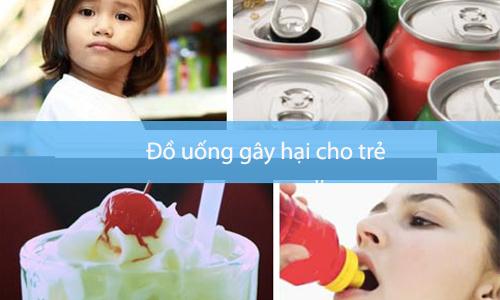 8 loại đồ uống gây hại cho sự phát triển của trẻ