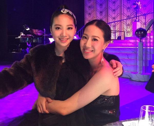 Công chúa 12 tuổi của Chân Tử Đan và Hoa hậu Uông Thi Thi,Jasmine