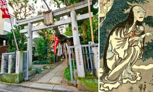 Ngôi đền thờ hồn ma người phụ nữ bị chồng phụ tình ở Tokyo