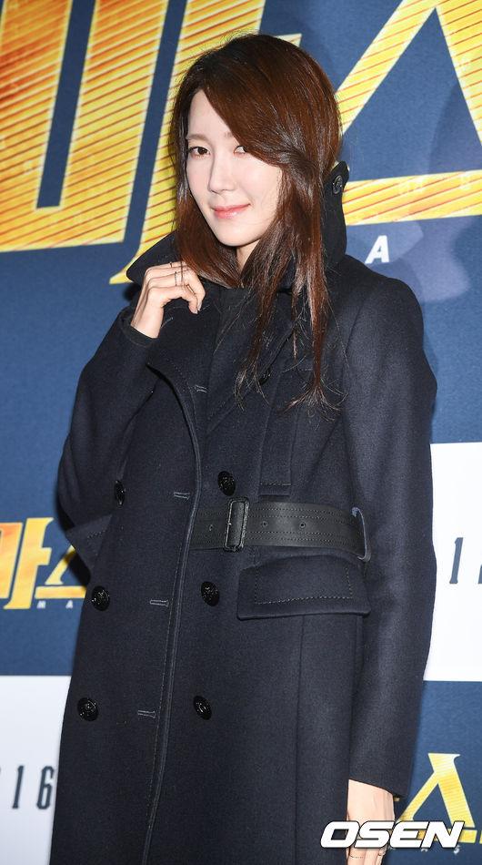 Cô đào Lee Ji Ah.