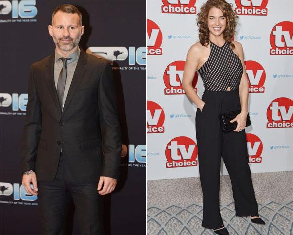 Ryan Giggs và Gemma Atkinson được cho là quấn quýt bên nhau khi cùng tham dự lễ trao giải nhân vật thể thao của năm hôm cuối tuần.