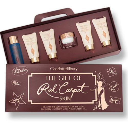 Charlotte Tilbury The Gift of Red Carpet Skin Travel Kit