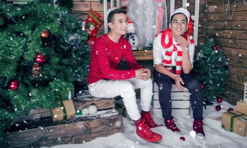 Nam Vương Fashion tung bộ ảnh thời trang dịp Giáng sinh