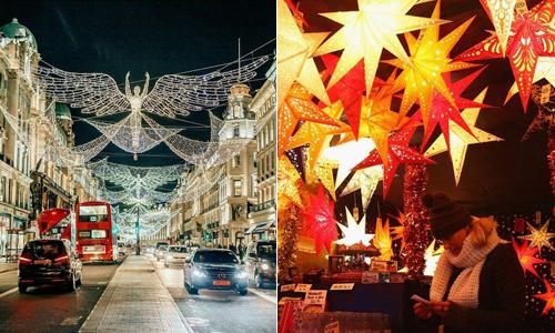 Không khí Giáng sinh tràn ngập thế giới