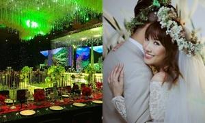 Trấn Thành chi 2 tỷ trang trí cho đám cưới