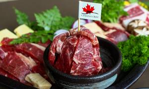Thưởng thức thịt bò Canada thơm ngon tại SumoBBQ