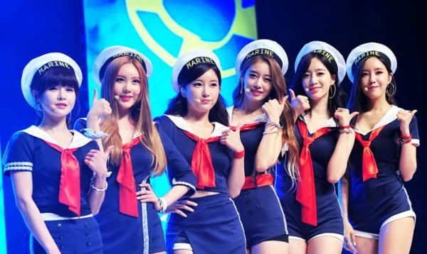 6 cô gái xinh đẹp, quyến rũ của nhóm T-Ara.