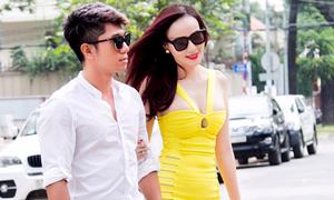 Dương Yến Ngọc mặc sexy, sánh đôi nhạc sĩ Lương Bằng Quang