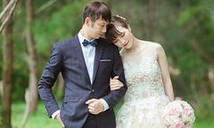Cô dâu xinh đẹp của ngôi sao cầu lông Tiến Minh
