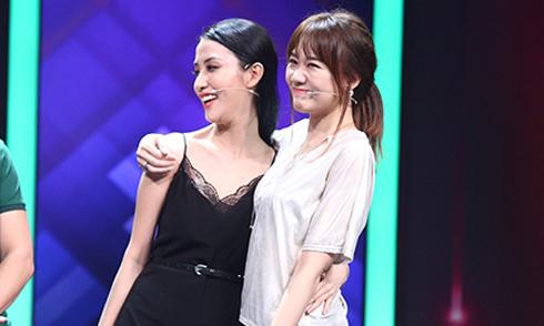 Hari Won thân thiết ôm vai bạn gái cũ của Trấn Thành