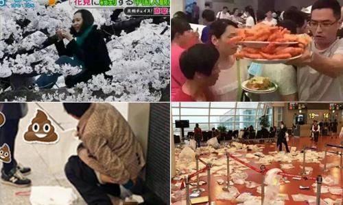 10 scandal du lịch xấu hổ của khách Trung Quốc năm 2016