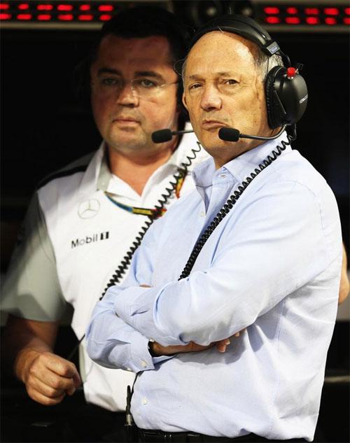 Triệu phú Ron Dennis từng là chủ tịch đội đội McLaren.