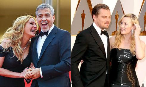 Những tình bạn keo sơn hiếm có ở Hollywood