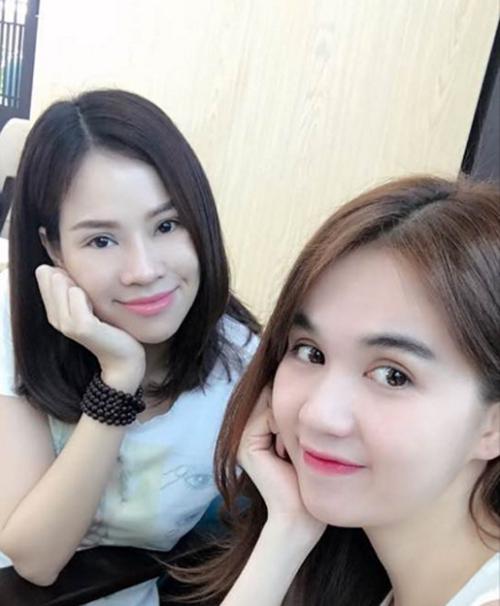 con-dau-ty-phu-hoang-kieu-dang-anh-selfie-voi-ngoc-trinh
