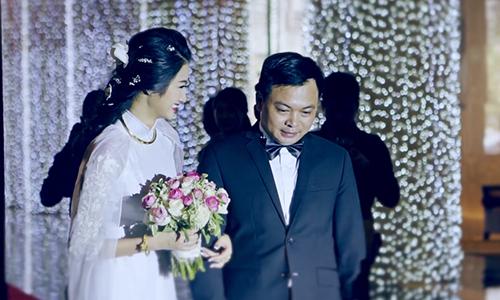 Những khoảnh khắc đẹp trong lễ rước dâu của Hoa hậu Thu Ngân