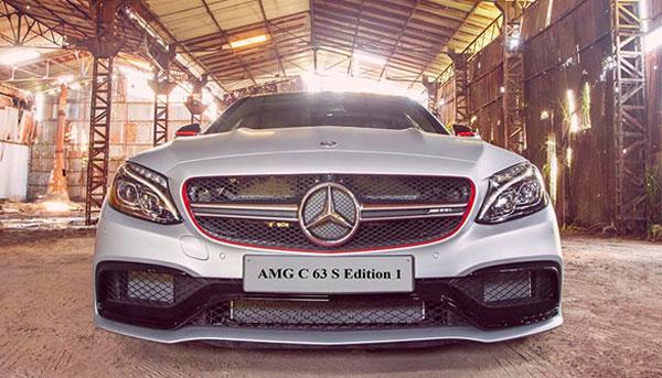 Mercedes-AMG C 63 S Edition 1 khi mới về Việt Nam. Ảnh: TT.