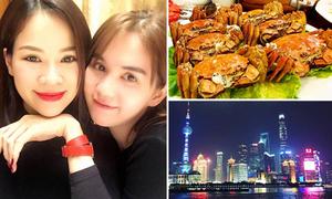 Trải nghiệm xa xỉ ở Thượng Hải của gia đình người tình Ngọc Trinh